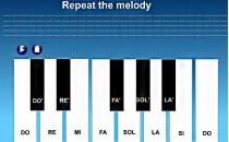 Играть онлайн Самоучитель игры на пианино бесплатно