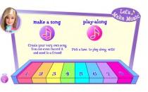 Играть онлайн Пианино Барби бесплатно