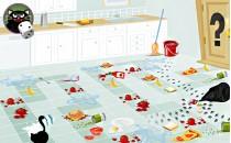Играть онлайн Приключения пушка на кухне для девочек бесплатно