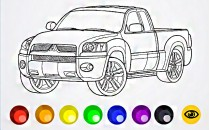 Играть онлайн в игру Раскраска машины бесплатно Раскраски ...