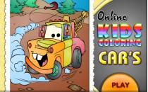 Играть онлайн Детская раскраска для мальчиков бесплатно