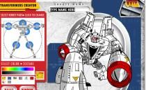 Играть онлайн Раскраска трансформеры бесплатно
