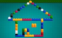 Играть онлайн Лего строить дома бесплатно