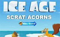 Играть онлайн Ледниковый период: Орехи на льду бесплатно