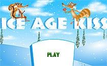 Играть онлайн Ледниковый период: поцелуй белок бесплатно