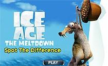 Играть онлайн Ледниковый период: Найди отличия бесплатно