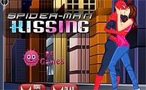 Играть онлайн Человек-паук - поцелуи бесплатно