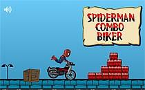 Играть онлайн Человек-паук. Велоспорт бесплатно
