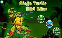 Играть онлайн Черепашки Ниндзя катаются на мотоцикле бесплатно