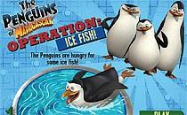 Играть онлайн Мадагаскар: заморозка рыбы бесплатно