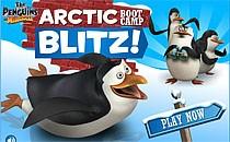 Играть онлайн Мадагаскар 2: Снежные гонки бесплатно