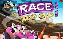 Играть онлайн Мадагаскар: Гонки по зоопарку бесплатно