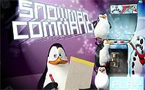 Играть онлайн Мадагаскар: Команда снеговика бесплатно