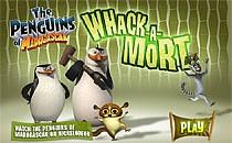 Играть онлайн Мадагаскар: Пингвины ловят Морта бесплатно