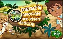 Играть онлайн Приключения Диего в Африке бесплатно