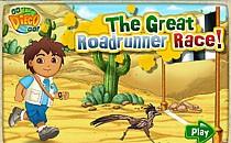 Играть онлайн Диего и страусиные бега бесплатно