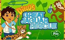 Играть онлайн Диего и ягуар бесплатно
