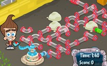 Играть онлайн Приключения Джимми Нейтрона бесплатно