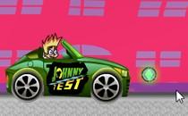 Играть онлайн Джонни Тест гонки бесплатно