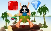 Играть онлайн Кузя в джунглях бесплатно