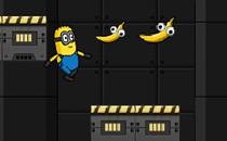 Играть онлайн Миньоны бегать и собирать бананы бесплатно