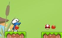 Играть онлайн Смурфики 3 на двоих бесплатно