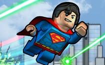 Играть онлайн Супермен и бэтмен лего бесплатно