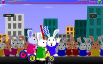 Играть онлайн Кролик Bloony Гонки 3 бесплатно