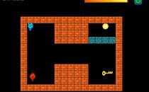 Играть онлайн Огонь и Вода: Капелька спасает Искру бесплатно