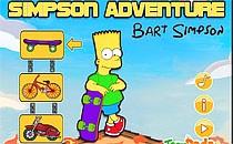 Играть онлайн Симпсоны: Приключения Барта бесплатно