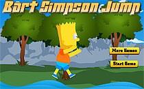 Играть онлайн Симпсоны прыгают по камням бесплатно