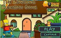 Играть онлайн Симпсоны: Стрельба из рогатки бесплатно