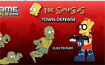Играть онлайн Симпсоны против зомби бесплатно