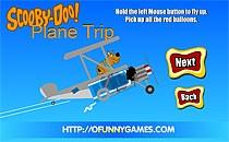 Играть онлайн Скуби Ду летает на самолёте бесплатно