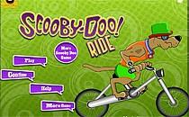 Играть онлайн Скуби Ду на велосипеде ночью бесплатно