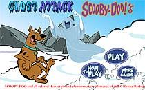 Играть онлайн Скуби Ду катается на сноуборде бесплатно