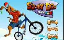 Играть онлайн Скуби Ду катается на велосипеде бесплатно
