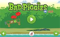 Играть онлайн Энгри бердс: Плохие поросята бесплатно