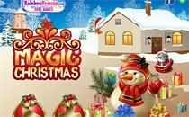 Играть онлайн Поиск предметов - Рождество бесплатно