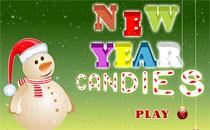 Играть онлайн Конфеты Новый Год бесплатно