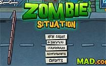 Играть онлайн Зомби положение бесплатно