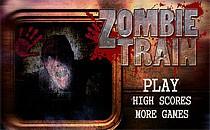 Играть онлайн Zombie поезд бесплатно