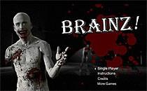 Играть онлайн Зомби Брейнц бесплатно
