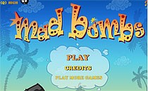 Играть онлайн Бешеные Бомбочки против Зомби бесплатно