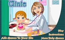 Играть онлайн Детская поликлиника бесплатно