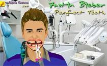 Играть онлайн Идеальная улыбка Джастина Бибера бесплатно