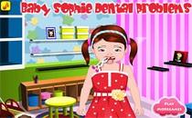 Играть онлайн У малышки Софи болят зубки бесплатно