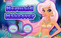 Играть онлайн Макияж очаровательной русалки бесплатно
