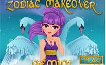 Играть онлайн Зодиакальный макияж: Близнецы бесплатно