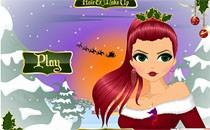 Играть онлайн Прическа и макияж: Новый год бесплатно